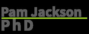 Pam Jackson, PhD Logo